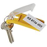 DURABLE Schlüsselanhänger Key Clip 65 x 25 x 12 mm 6 Stück
