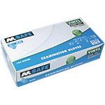 M Safe Handschuhe Gepudert Vinyl Größe S Blau 100 Stück