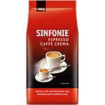 Sinfonie Kaffeebohnen Espresso Caffee Crema 1 kg