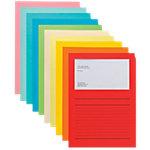 Elco Papiersichthüllen Ordo Classico A4 Farbig assortiert Papier mit Liniendruck 320 x 220 mm 100 Stück