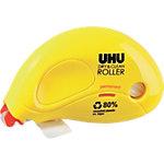 UHU Einweg Kleberoller DRY&CLEAN ROLLER Gelb