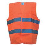 Sicherheitsweste Polyester Universal Orange