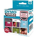 DYMO LW Durable Hochleistungs Etiketten 1976411 Schwarz auf Weiß 25 mm x 54 mm 160 Stück