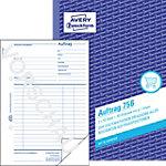 AVERY Zweckform Auftragsbuch 756 Weiß DIN A5 Perforiert 2 à 50 Blatt