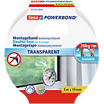 tesa Powerbond Montageband 55744 19 mm x 5 m Transparent