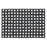 Floortex Fussbodenmatte Honeycomb Schwarz 120 x 80 cm
