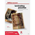 Office Depot Laminierfolien Glänzend 150 Mikron A4 100 Stück