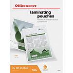 Office Depot Laminierfolien Matt 2 x 125 (250) Mikron DIN A4 100 Stück