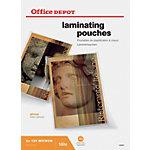 Office Depot Laminierfolien Glänzend 2 x 125 (250) Mikron DIN A3 100 Stück