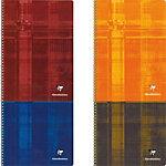 Clairefontaine Spiralbuch 68142 Farbig sortiert 5 x 5 Quadratzoll Kariert DIN A4 21 x 29,7 cm