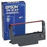 Epson ERC38BR Original Schwarz & Rot Farbband C43S015376