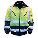 M Wear Arbeitsjacke 962 Polyester, Baumwolle L Gelb