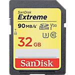 SanDisk SDHC Flash Speicherkarte UHS 1 Extreme 32 GB