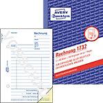 AVERY Zweckform Rechnungsblock 1732 Weiß, Gelb DIN A6 Perforiert 2 à 40 Blatt