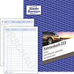 AVERY Zweckform Fahrtenbuch 223 A5 Perforiert 40 Blatt