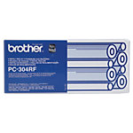 Brother Original Farbband PC 304RF Schwarz 4 Stück