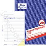 AVERY Zweckform Rapport 1770 Weiß, Gelb DIN A5 Perforiert 2 à 40 Blatt