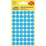 AVERY Zweckform Markierungspunkte Spezial 3142 Blau 5 Blatt à 54 Etiketten