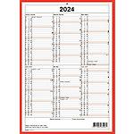 Simplex Wandkalender 2020 A4