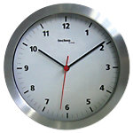 TechnoLine Wanduhr WT7650 25 x 4.6 cm Silber