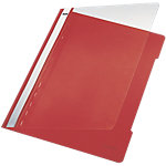 Leitz Schnellhefter Standard DIN A4 Rot PVC