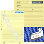 AVERY Zweckform Gesprächsnotizblock 1018 Gelb DIN A5 Perforiert 50 Blatt