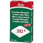 Melitta Pyramidenfilter 202S Grün, Rot 100 Stück 100 Stück