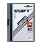 DURABLE Klemmmappe Duraclip A4 Anthrazit