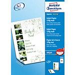AVERY Zweckform Fotopapier 2583 Weiß DIN A4 170 g