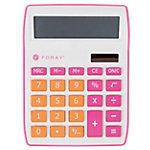 Foray Tischrechner Generation 10 stelliges Display Rosa, Orange