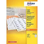 AVERY Zweckform Universaletiketten DP246 100 Weiss DIN A4 70 x 36 mm 100 Blatt à 24 Etiketten