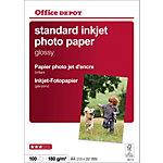 Office Depot Inkjet Fotopapier Standard A4 180 g