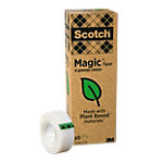 Scotch Klebefilm Magic A greener choice 19 mm x 33 m Transparent 9 Rollen