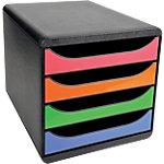 Exacompta Schubladenbox Big Box A4+ Mehrfarbig 27.8 x 34.7 x 26.7 cm