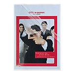 Office Depot Sichthüllen Deluxe Stark DIN A4 Polypropylen 145 Mikron Transparent 100 Stück
