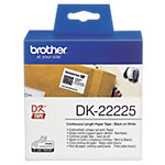 Brother Endlosetiketten DK 22225 38 mm Weiss