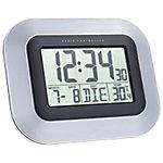 TechnoLine Digitaluhr WS8005 Schwarz, Silber