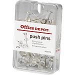 Office Depot Reissnägel Transparent 25 Stück
