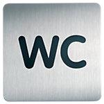 DURABLE Piktogramm WC 15 x 15 cm