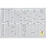 Franken Projekt Jetkalender Weiß, Silber 90 x 60 cm