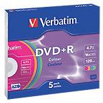 Verbatim DVD+R 4.7 GB 5 Stück