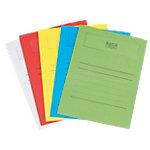 Elco Papiersichthüllen Ordo Volumino DIN A4 Mehrfarbig Papier 120 Mikron 50 Stück