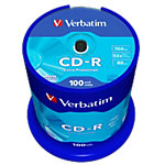 Verbatim CD R 700 MB 100 Stück