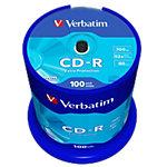 Verbatim CD Rohlinge Extra Protection 700 MB 100 Stück