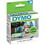 DYMO LW Universaletiketten S0929120 Schwarz auf Weiss 25 mm x 25 mm