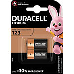 Duracell 123 Batterien CR17345 High Power Ultra 3 V Lithium 2 Stück