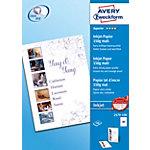 AVERY Zweckform Inkjet Fotopapier 2579 100 Weiß DIN A4 150 g