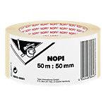 Nopi Kreppband 55513 50 mm x 50 m Beige
