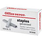 Office Depot Heftklammern Nr. 10 1000 Heftklammern