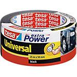 tesa extra Power Verpackungsklebeband Universal 50 mm x 25 m Schwarz